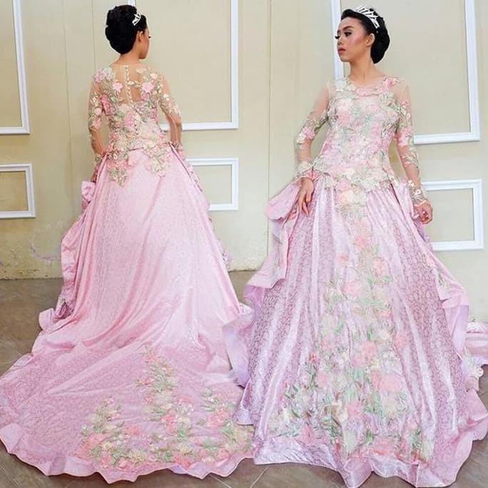 Jual Terlaris Model Kebaya Baju Pengantin Kebaya Modern Kebaya Muslim Dki Jakarta Rosi Colection Tokopedia