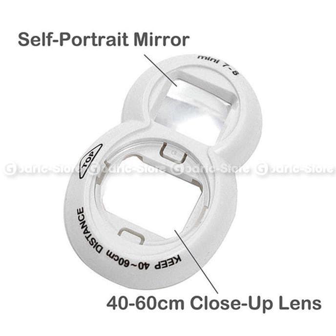 Fujifilm Mirror Lens Color Selfie For Instax Instax 7/8S - Kuning