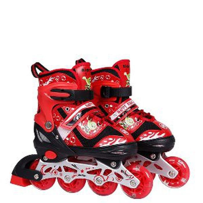 Jual CUCI GUDANG Sepatu roda anak bajaj murah sepatu inline skate ... 935ed402af
