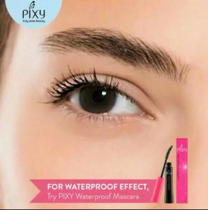 Pixy Waterproof Mascara Black 7ml Murah