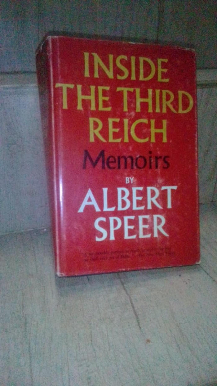 Book Inside the third reich memory