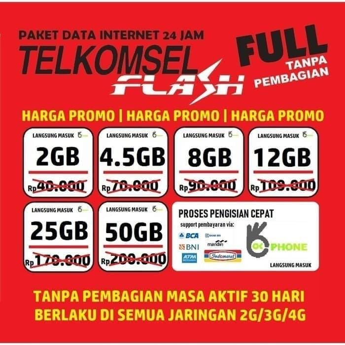 Jual Paket Data Kuota Telkomsel Internet Simpati Loop As 24 Kota Medan Fidelis Ponsel 8 Tokopedia