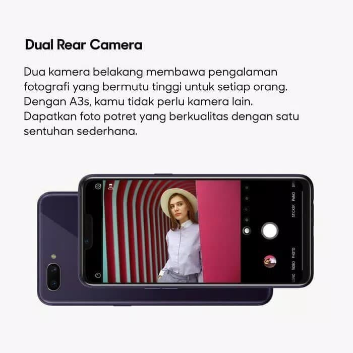 Jual Oppo A3s 3 32 Gb Red Fitri Cell R Tokopedia