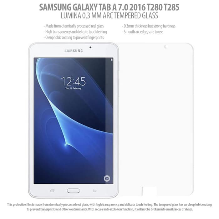 """3 Pack Clear Tablet Screen Protector Guard For 7/"""" Samsung Galaxy Tab A 7.0 2016"""