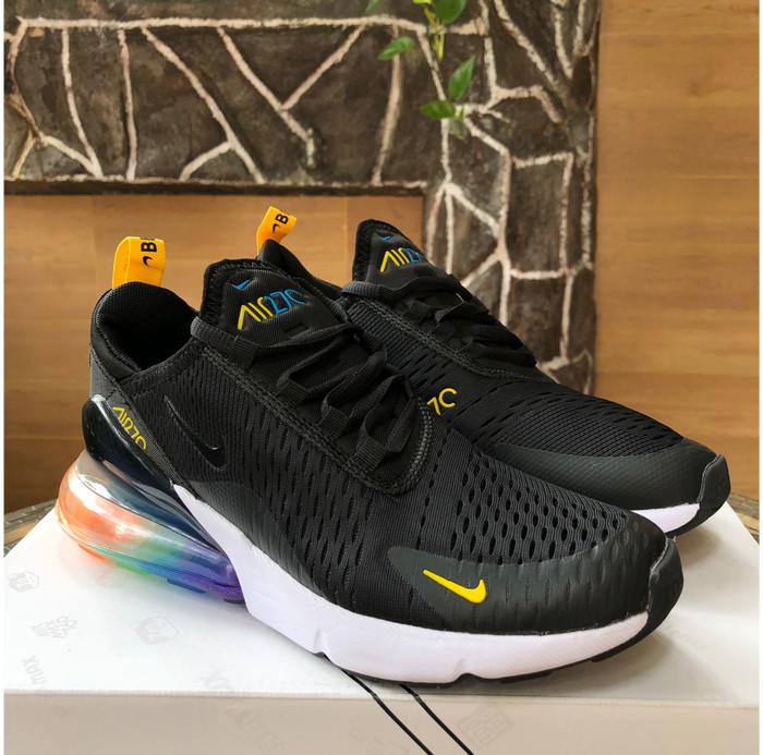 new arrival 61599 9a820 Jual Nike Air Max 270 Be True Black Spectrum Rainbow High Premium Original  - Harizadi Store   Tokopedia