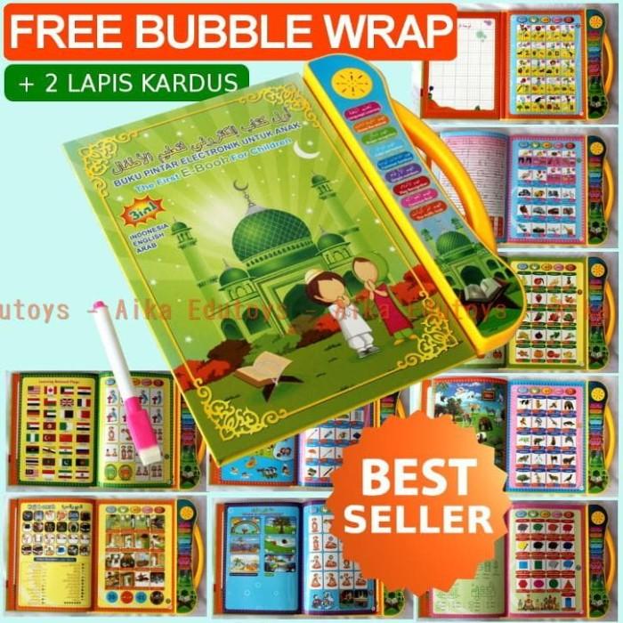 harga Mainan edukasi ebook anak muslim 3 bahasa e book buku quran doa islam Tokopedia.com