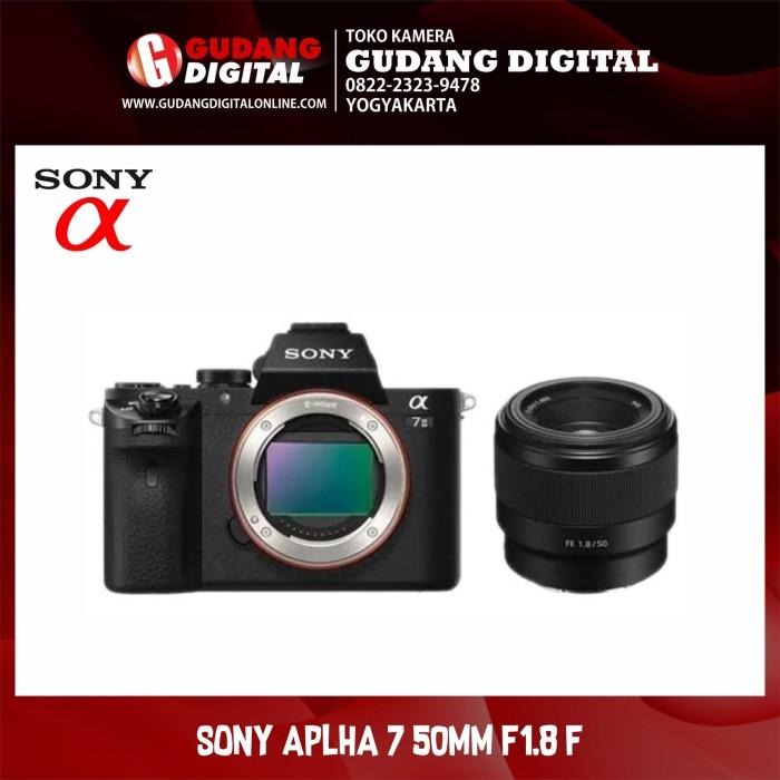 Kamera sony alpha 7 / a7 50mm f1.8 f