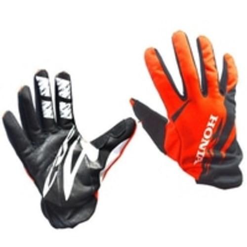 Foto Produk Honda CRF Print Glove Hitam Orange AHGL0101010 dari Honda Cengkareng