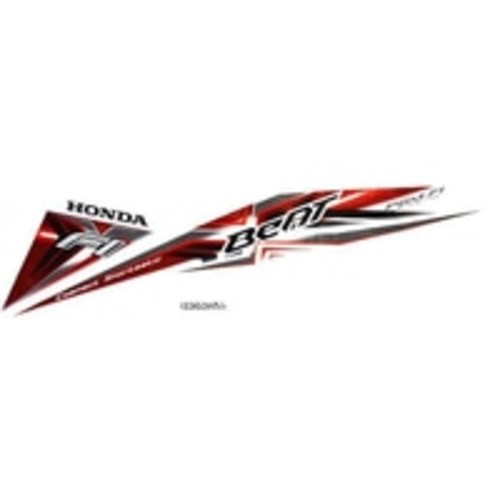 Foto Produk Sticker Body Kanan White Red – BeAT Sporty eSP (871X0K25630ZBR) dari Honda Cengkareng