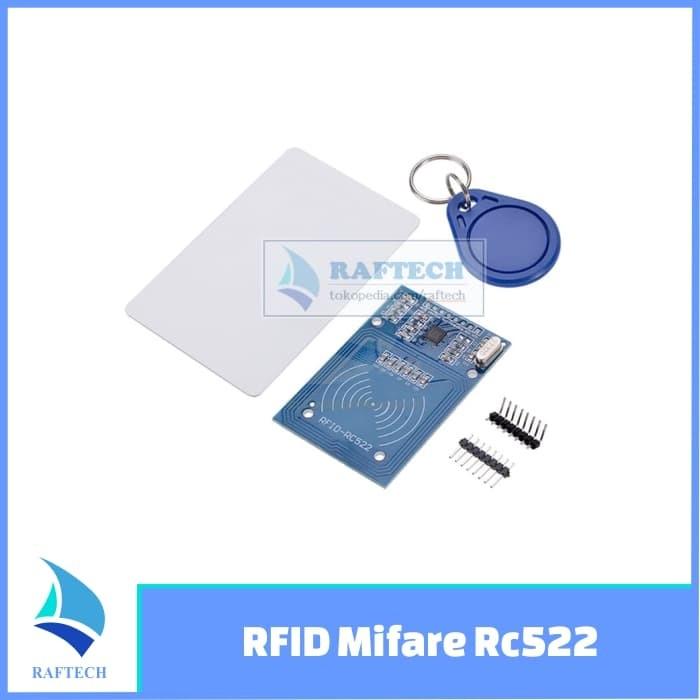 Jual RFID Mifare RC522 Reader/Writer Module untuk Arduino / Raspberry Pi -  Kota Bandung - RAFTECH | Tokopedia