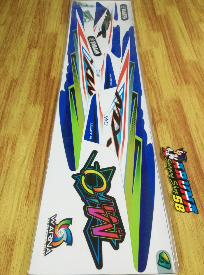 Striping Mio Sporty-Mio Smile Thailok Th 2004-2012 -Kode 17