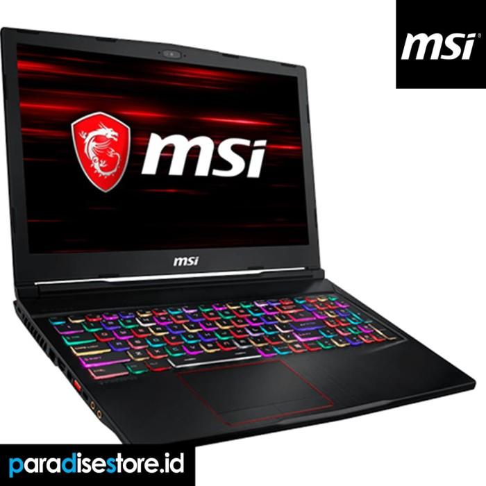 harga Msi ge63 8rf-085id i7-g8 - 16gb - 256gb + 1tb hdd - rtx2070-win10 Tokopedia.com