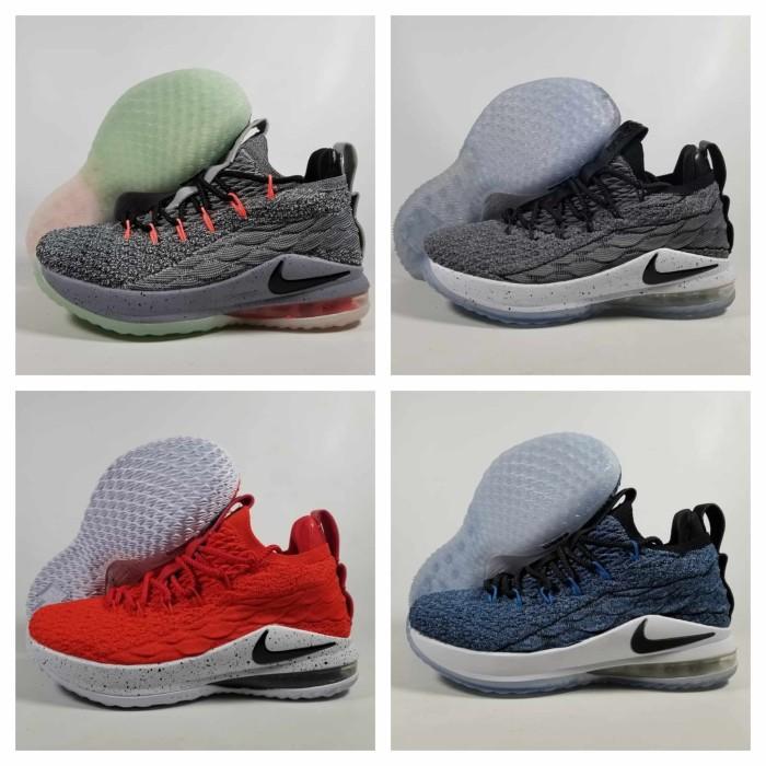 230cd21790d3 Sepatu Basket Anak Nike Lebron 15 Low Uk   36-40 Termurah Berkualitas