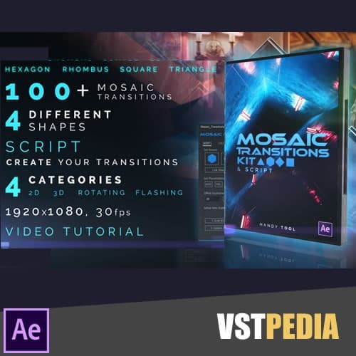 Jual Videohive Mosaic Transitions Kit untuk After effects - Kab  Situbondo  - Radja wordpress | Tokopedia