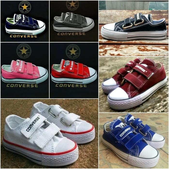 683709d28e0d Sepatu anak converse all star perekat kids velcro ...