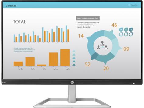 harga Lcd monitor led hp n240 - ips 23.8 inch hdmi fullhd monitor - resmi Tokopedia.com