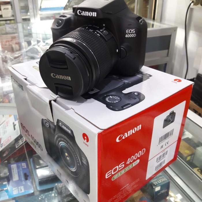 harga Canon eos 4000d lensa 18-55mm+paket Tokopedia.com