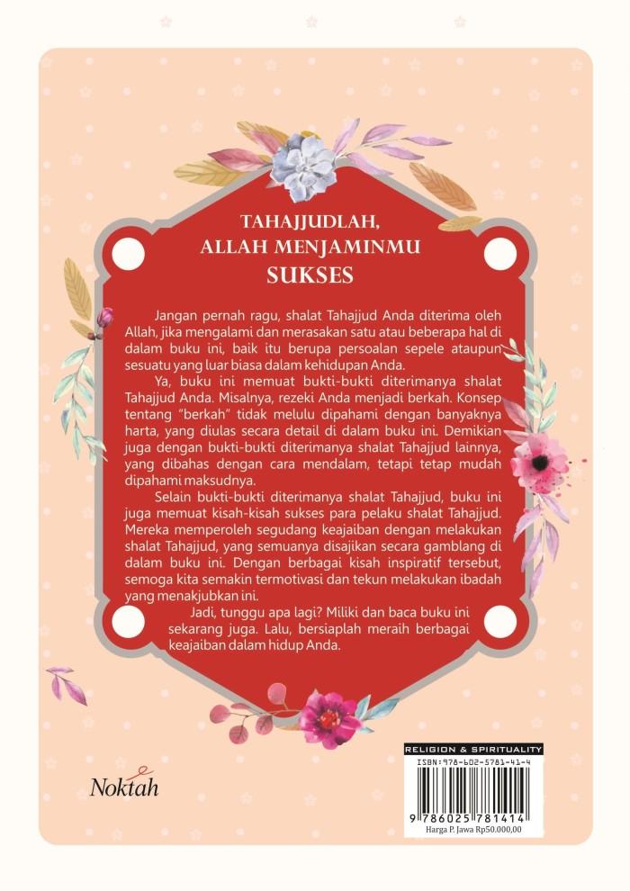 Jual Buku Tahajjudlah Allah Menjaminmu Sukses - Noktah - Kab  Bantul - Diva  Press Group - OS | Tokopedia