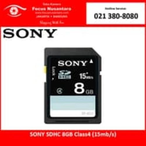 harga Sony sdhc 8gb class4 (15mb/s) Tokopedia.com