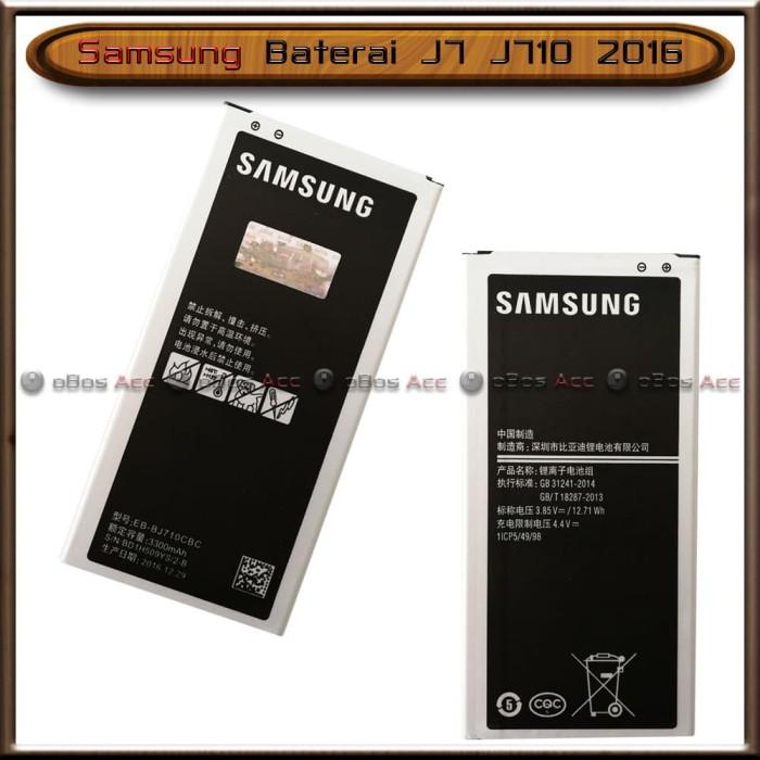 Foto Produk Baterai Samsung Galaxy J7 J710 2016 Original Batre Batrai HP dari oBos Acc