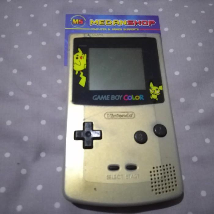 Foto Produk Nintendo Game Boy Colour (Pikachu Ver) dari MEDANSHOP.net