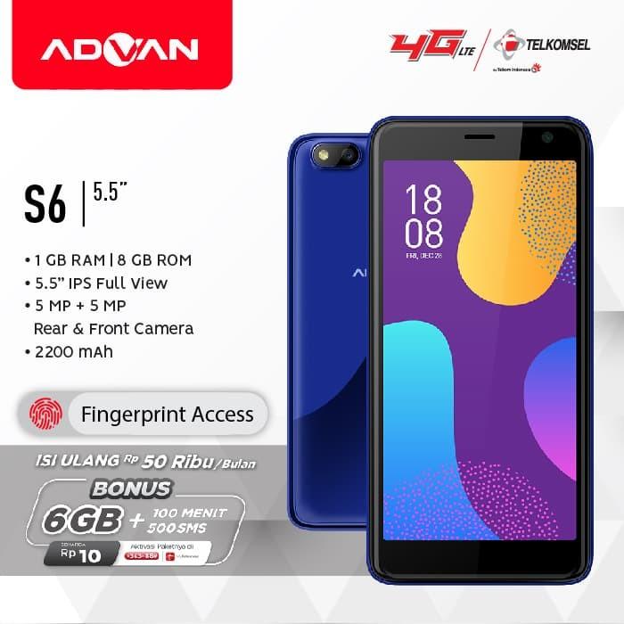 harga Advan s6 - 1gb/8gb - biru Tokopedia.com