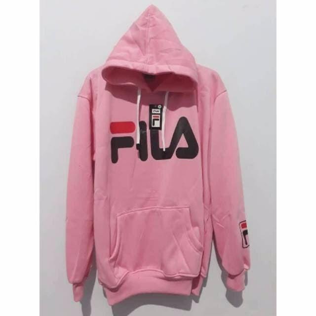 Jual Jaket Sweater Fila warna Pink Cewek Cowok Bandung Distro M L Xl ... 0b83ad0cdc