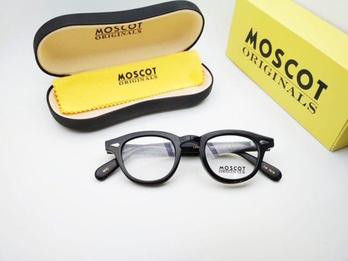 Jual Frame Kacamata Moscot Lemtosh hitam glossy size small lensa ... 3733454bca