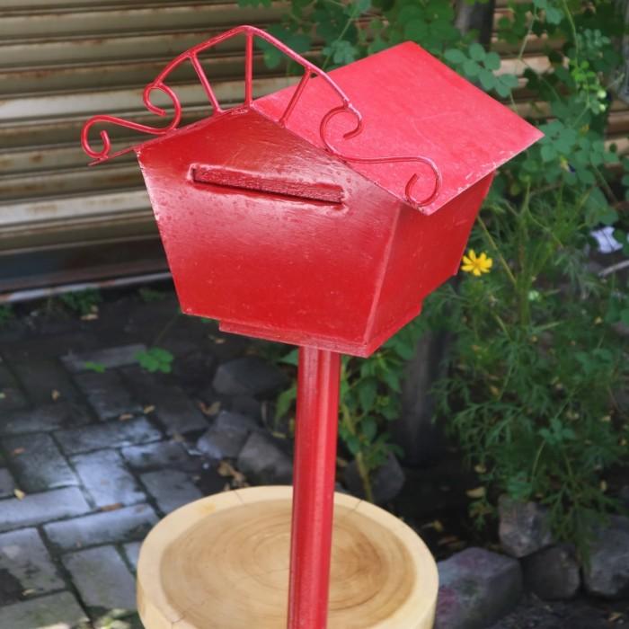 Jual Kotak Surat Merah Vintage Klasik Kab Sleman Furniture Galeri Oma Tokopedia