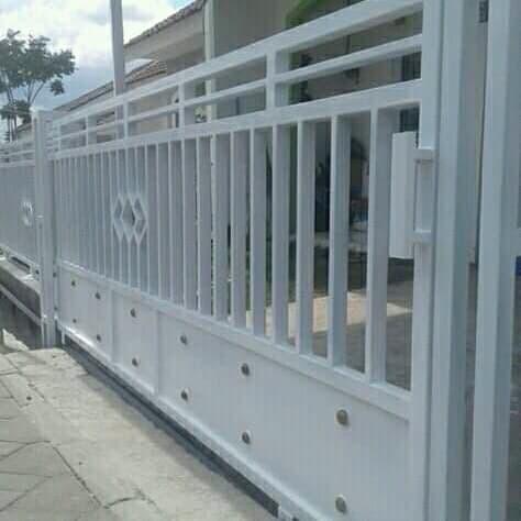 Jual Pagar Besi Minimalis Kota Bekasi Berkah Jaya Las Tokopedia