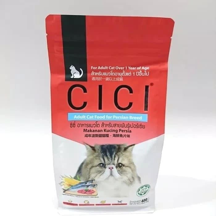 Jual Makanan Kucing Cici Persia Catfood Makanan Hewan 400gr