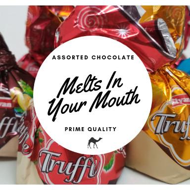 harga Cokelat truffle 500gr coklat arab oleh oleh haji umroh Tokopedia.com