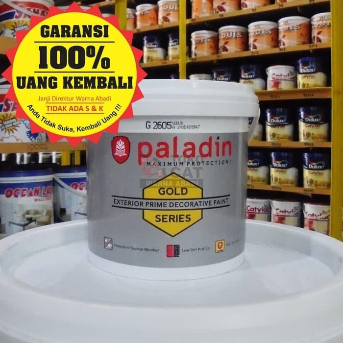 harga Cat tembok premium paladin 2.5 liter gold untuk dinding exterior Tokopedia.com