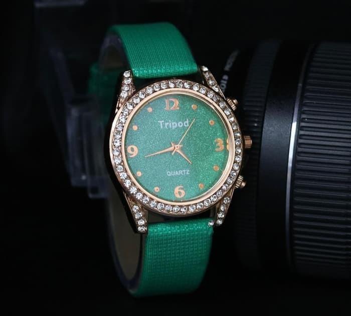 harga Jam tangan wanita tripod pw 9785 fashion free baterai cadangan + box Tokopedia.com