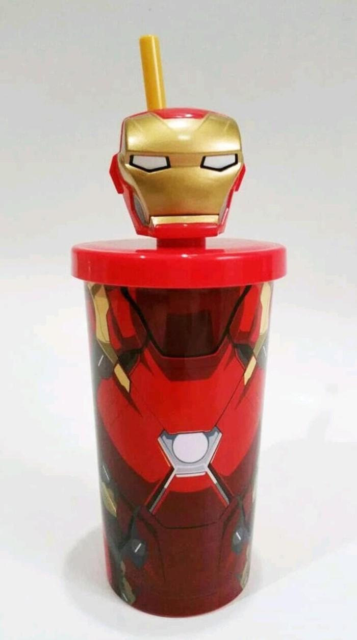Jual Tumbler Botol Minum Iron Man Ironman Avengers Kota Magelang Chocoow