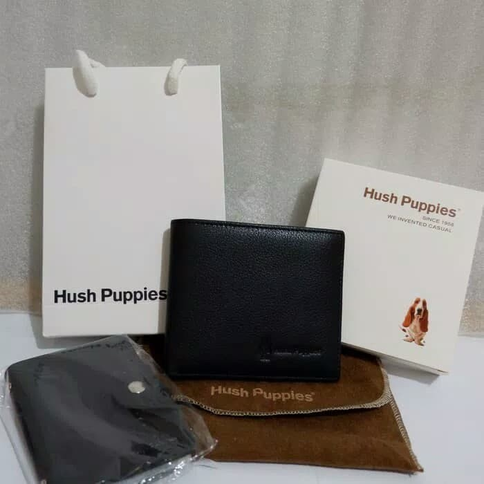 Jual DOMPET PRIA HUSH PUPPIES ORIGINAL - GENUINE LEATHER - Vello ... 361bb49ea3