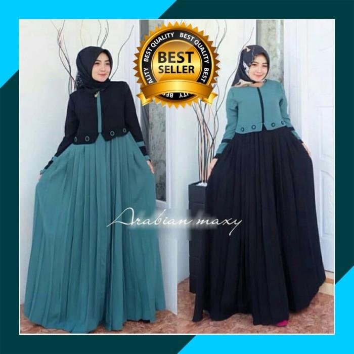 Jual Baju Gamis Wanita Terbaru Gamis Arabian Maxy Dress Syari Dewasa 13a7d522f9