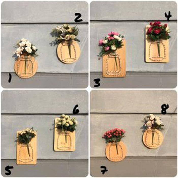 Jual Diy Wall Hanging Flower Decor