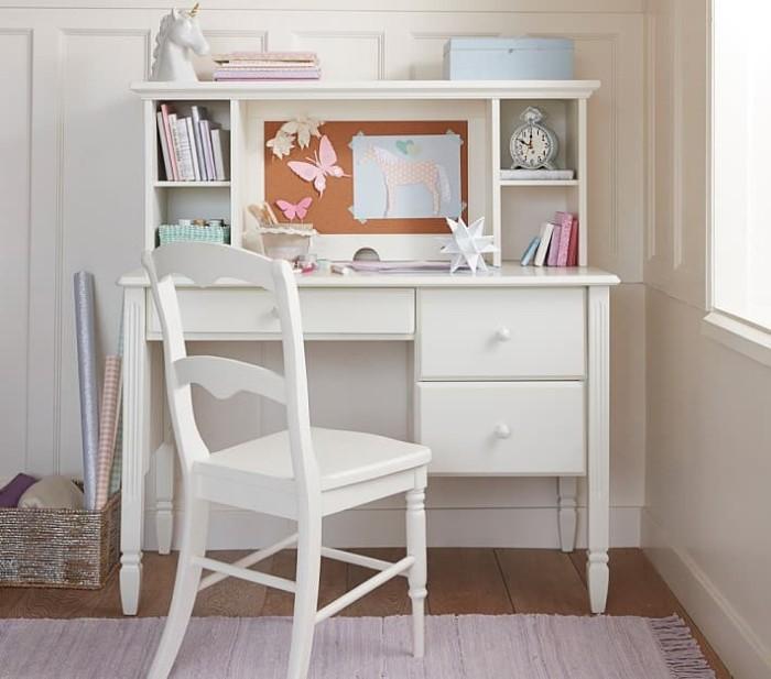 Jual Set Meja Belajar Anak Modern Minimalis Duco Putih Kab Jepara Wibawa Jepara Furniture Tokopedia