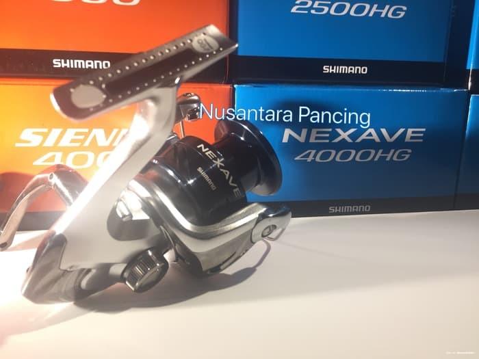 harga Ready reel pancing shimano nexave 4000 hg fe garansi resmi Tokopedia.com