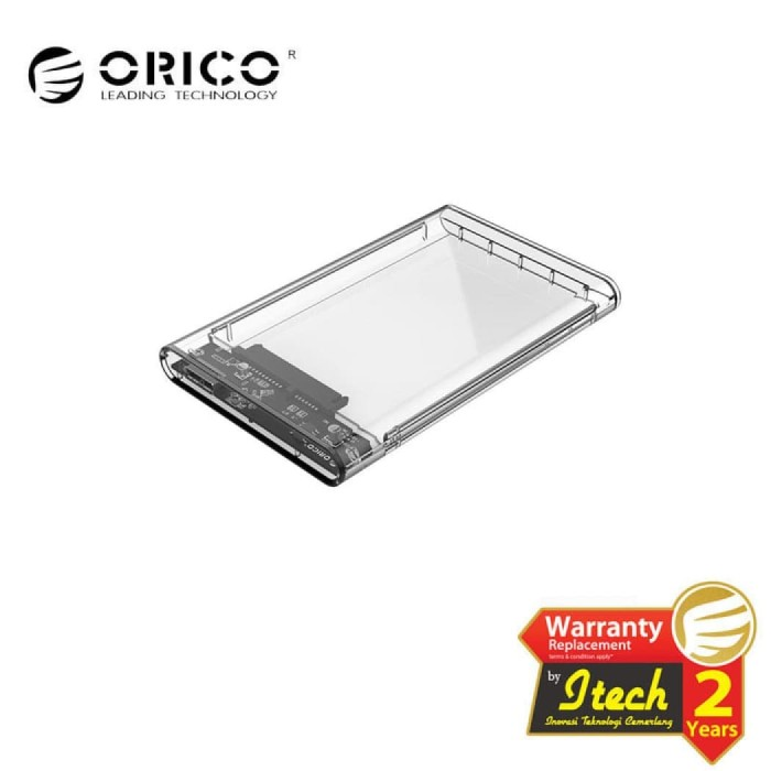 "Foto Produk ORICO 2139U3 Enclosure Casing HDD/ HD/ SSD 2.5"" USB3.0 - Case External dari Red Falcon"
