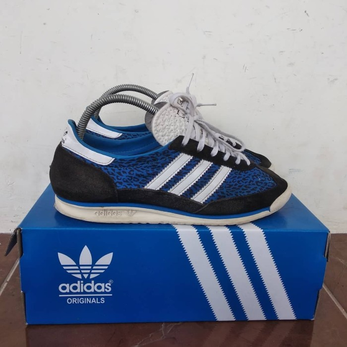 détaillant en ligne b43ff da1a3 Jual Sepatu Adidas SL 72 Blue Leopard - Kab. Tuban - lookscheap_ | Tokopedia