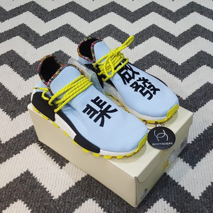 best sneakers 9f16f 7981e Jual Adidas NMD HU Human Race Inspiration Pack - Light Blue - Kab.  Tangerang - Boots Dept - OS | Tokopedia