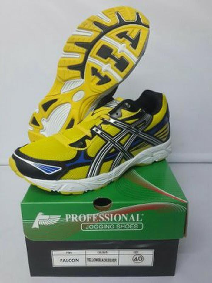 Jual Sepatu Volley Jogging Profesional Falcon Voly Joging sehat ... 272837523c