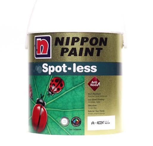 harga Nippon paint spotless cat tembok tinting 25l Tokopedia.com