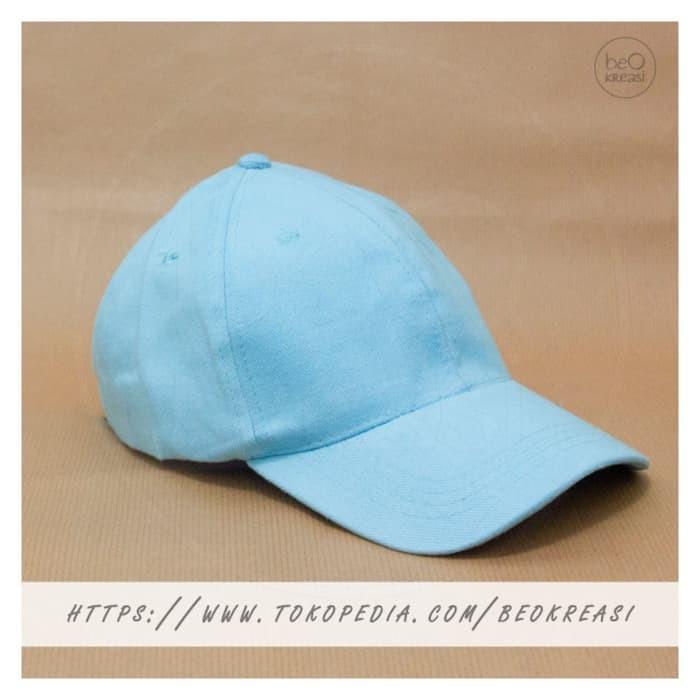 Jual Topi Baseball Cap Baby Blue Biru Muda Dewasa Polos Pria Wanita ... 86c54f0044