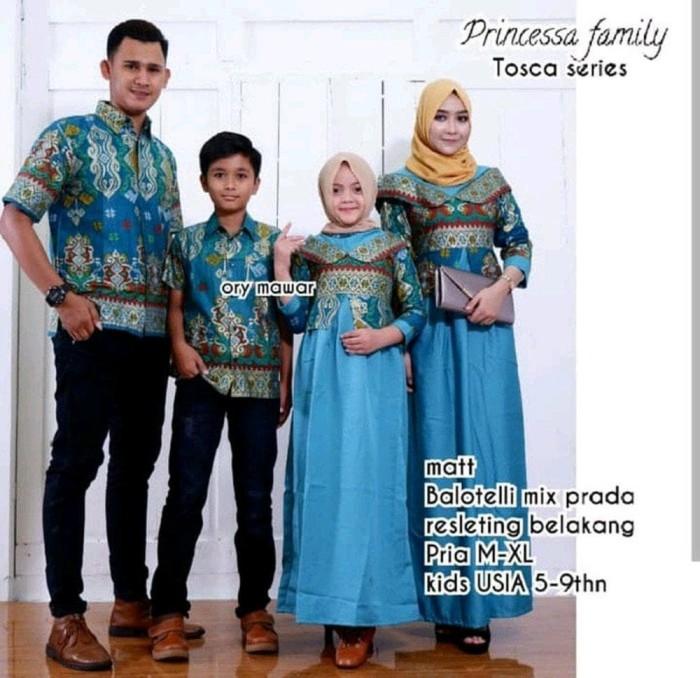Jual Berkualitas Baju Batik Couple Sarimbit Keluarga Pasangan Gamis Laluna Dki Jakarta Farida Indriani1 Tokopedia