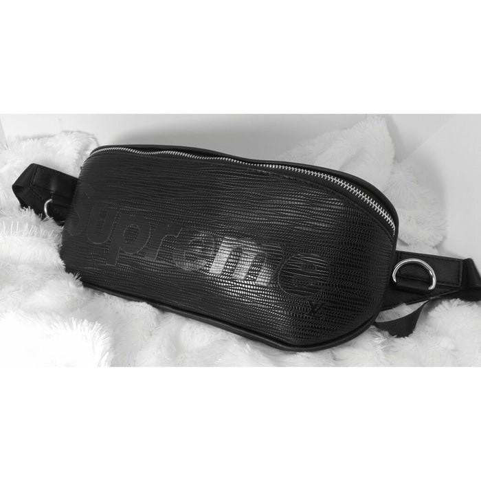 a5cd496538e8 Jual SLING BAG TAS LV SUPREME LV WAIST BAG RED   BLACK TAS SELEMPANG ...