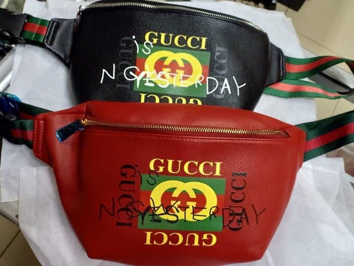 Jual Tas Bahu Tas Selempang Sling bag Chest bag GUCCI Pria Premium ... 48bf518a77