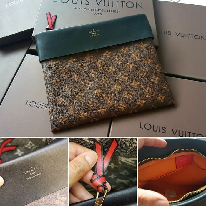 96da0d980207 Jual LV Tuileries Pochette Clutch Mirror Quality Clutch Branded ...